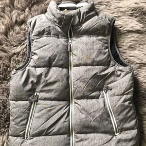 LOGG for H&M Gray Puffer Vest